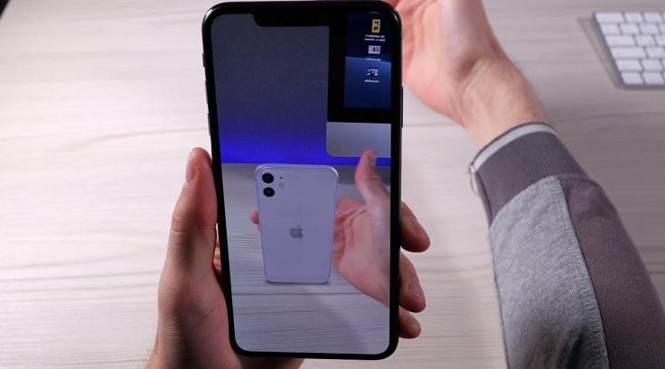 Устройства Apple распознают какие объекты расположены за моделью виртуальной реальности, а когда перед ней
