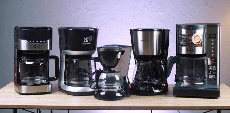 В этом обзоре говорим о пятерке хороших капельных кофеварок на бюджет от 300 до 2500 гривен