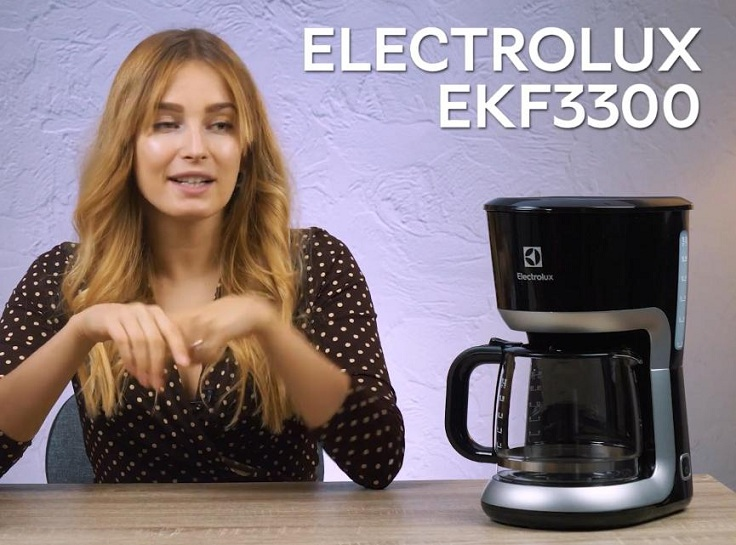 Капельная кофеварка ELECTROLUX EKF3300