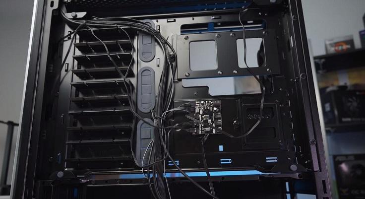 Охлаждением можно управлять с помощью шестиканального контроллера