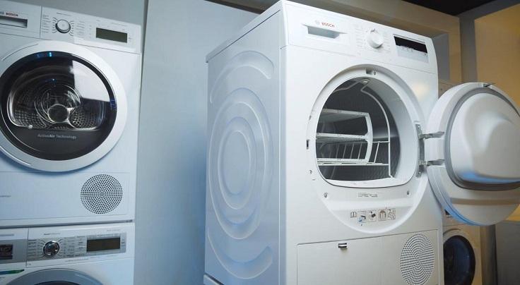Принцип работы сушильной машины такой же, как и у стиральной