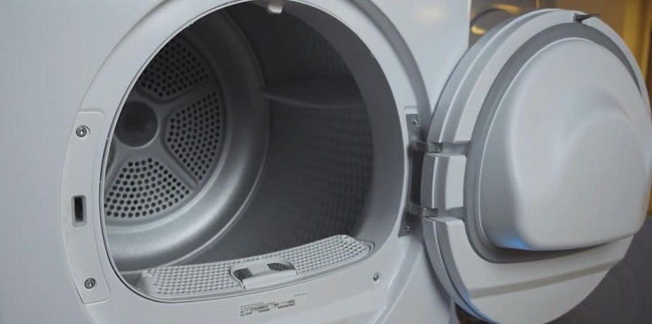 Сушильный аппарат очень аккуратно и бережно высушивает ваши вещи