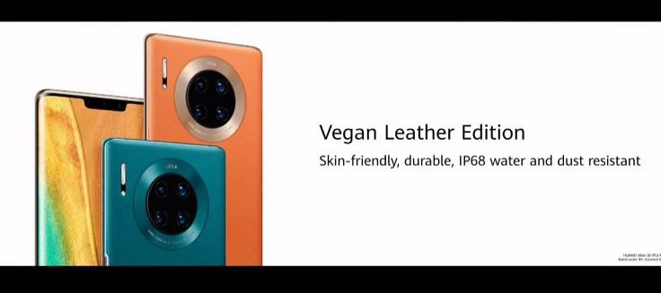 Будут еще две версии Mate 30 Pro 5G, которые назвали неожиданно - Vegan Leather.