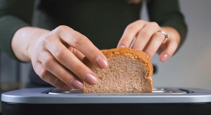 Чем больше мощности, тем быстрее будут готовы тосты