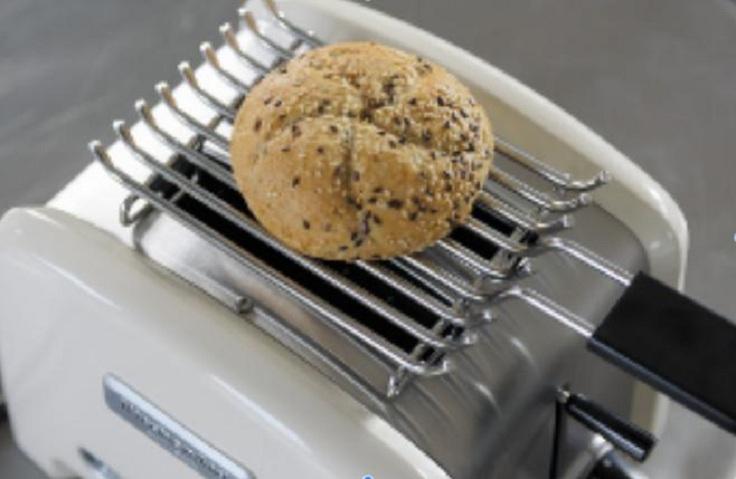Вообще не ясно, был ли тостер в жизни этого кусочка хлеба