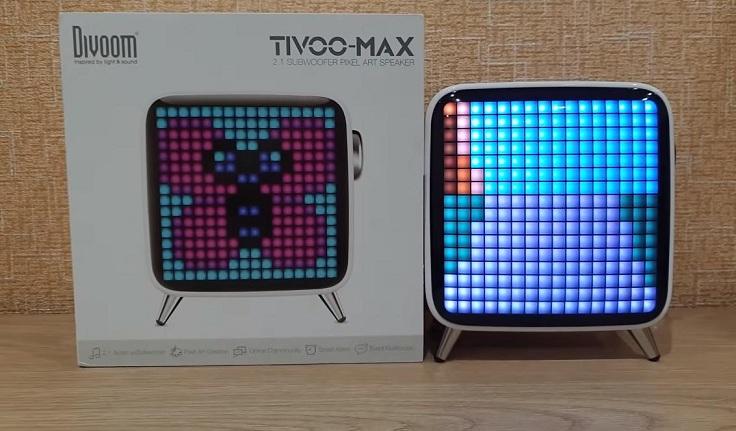 Bluetooth колонка Divoom Tivoo Max Pixel Art