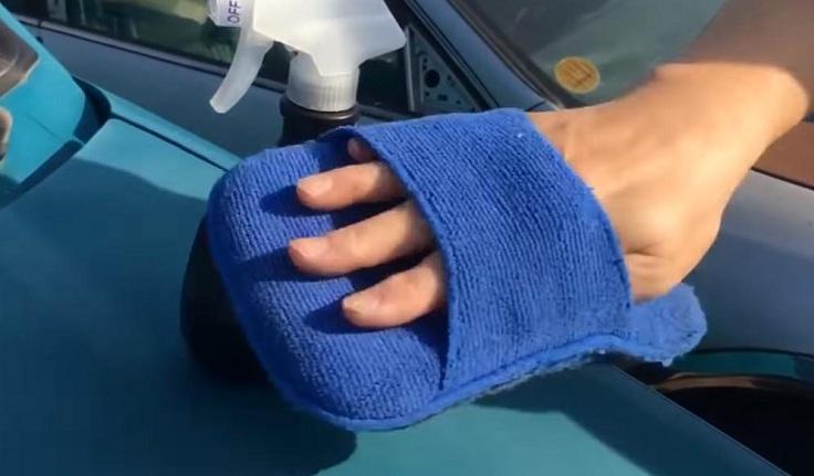 Тряпка рукавица для лкп