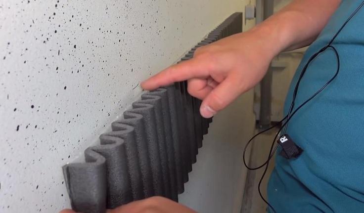 Защита на стены гаража