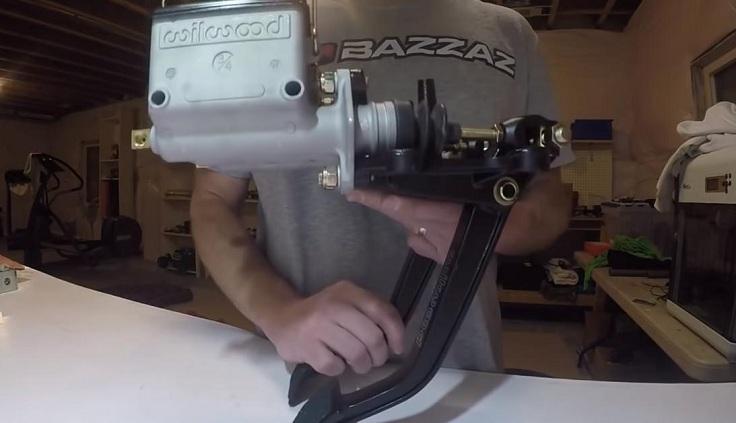 Гидравлическая система педалей