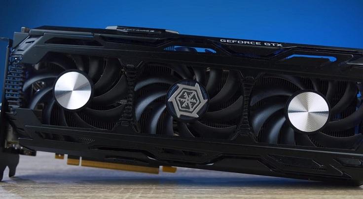 . В роли подопытной выступит видеокарта от Inno3D GeForce GTX 1080 Ti X3 Ultra.