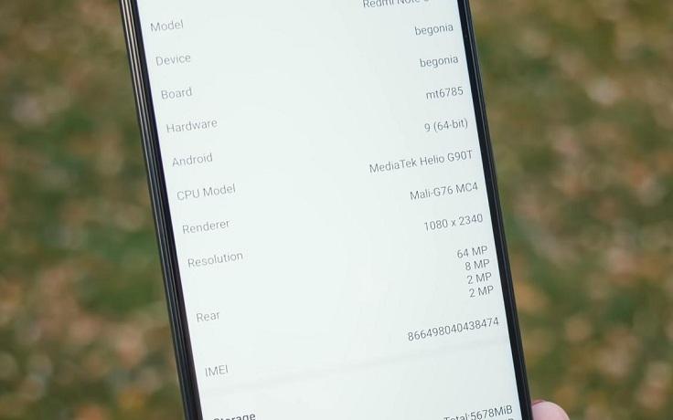 Для Note 8 Pro взяли не Snapdragon, а чип Helio G90T от MediaTek
