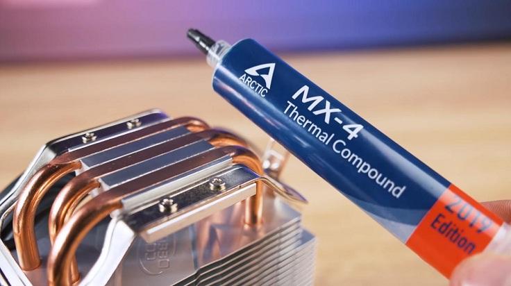 Тестировать все кулеры мы будем с Arctic MX-4.