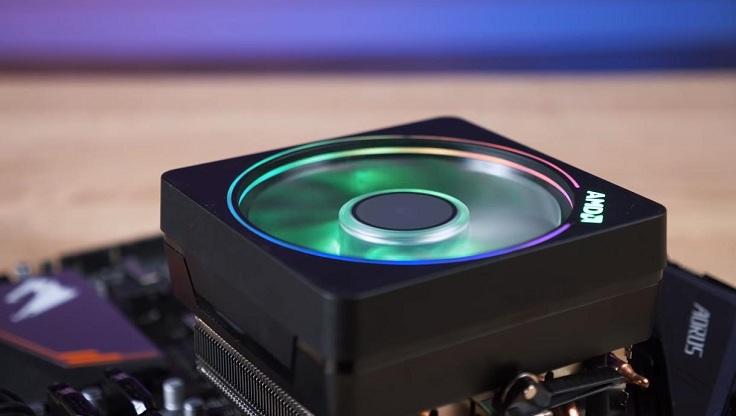 Добавил результаты комплектного охлаждения от AMD: Wraith Prism