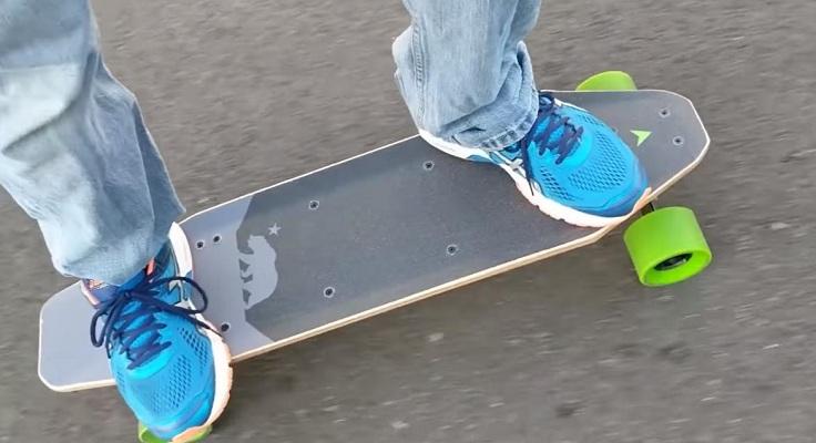 Электро скейтборд от Xiaomi
