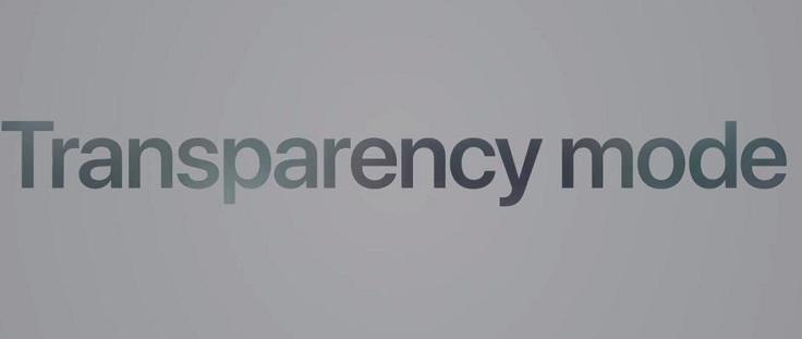 Называется такой режим «прозрачный режим»