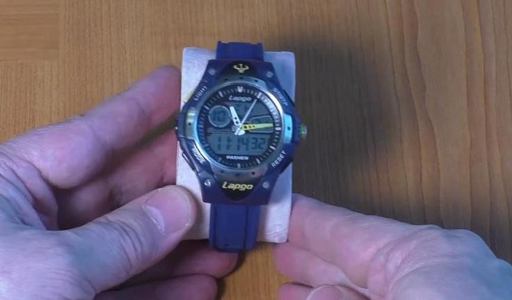 """Силиконовый ремешок для спортивных часов """"Pasnew Lapgo"""""""