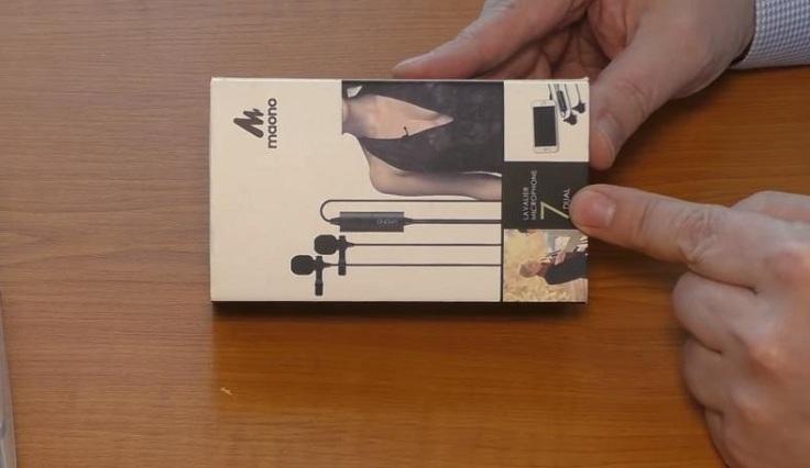 Микрофон-петличка MAONO AU100/200