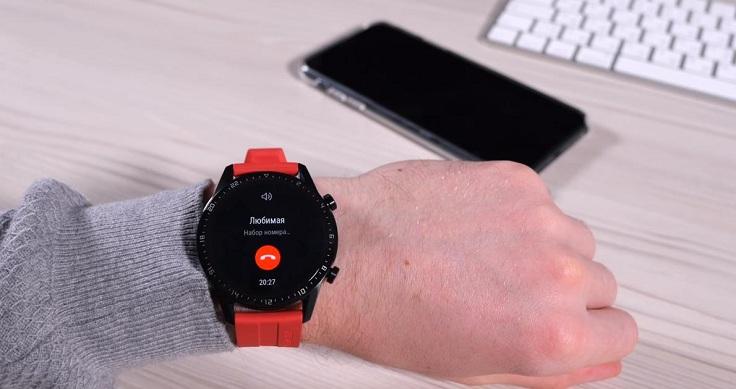 В Huawei Watch GT теперь есть полноценные звонки
