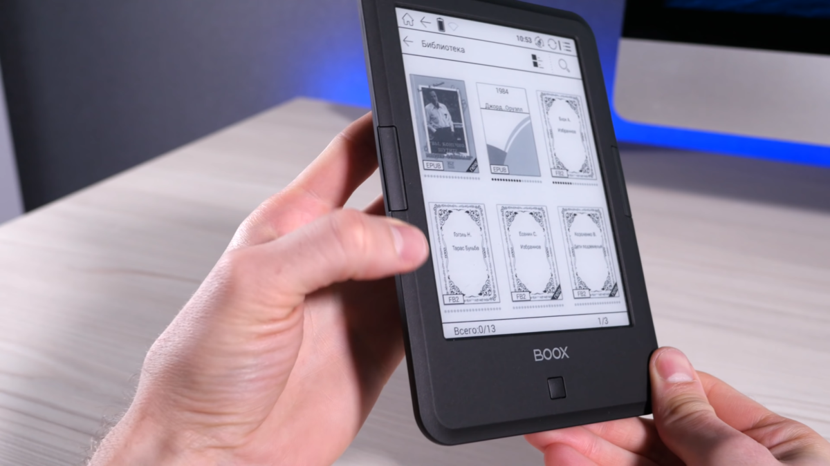 Обзор ONYX BOOX Vasco da Gama 3 Soft Touch