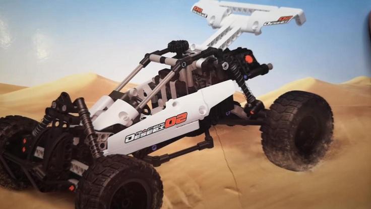 Конструктор для детей и взрослых Xiaomi Mitu Building Blocks Desert Racing Car.