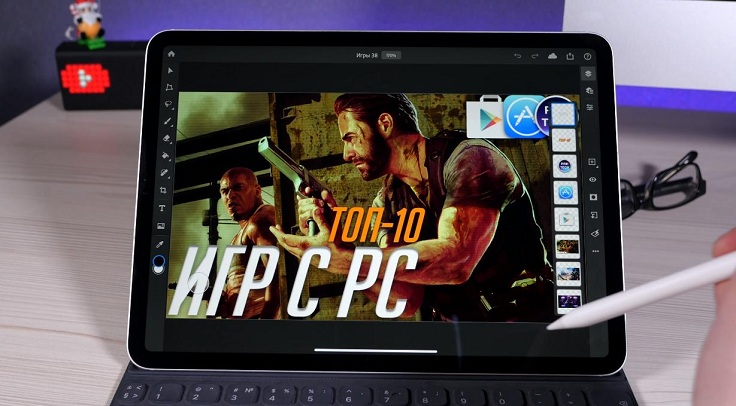 Adobe Photoshop для iPad