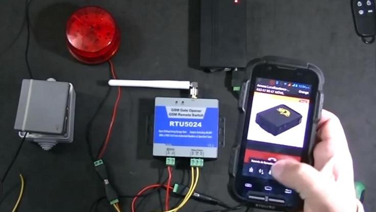 GSM Модуль для открытия ворот