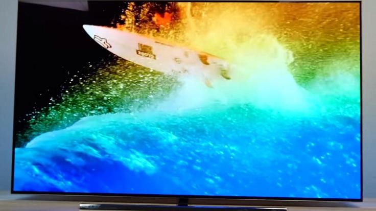 Офигенный телевизор Philips OLED854