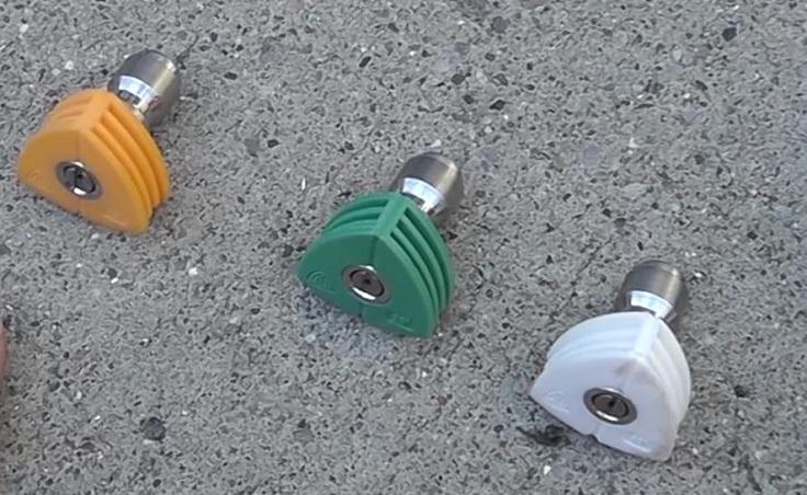 Струйная трубка с насадками для Karcher K1-K7