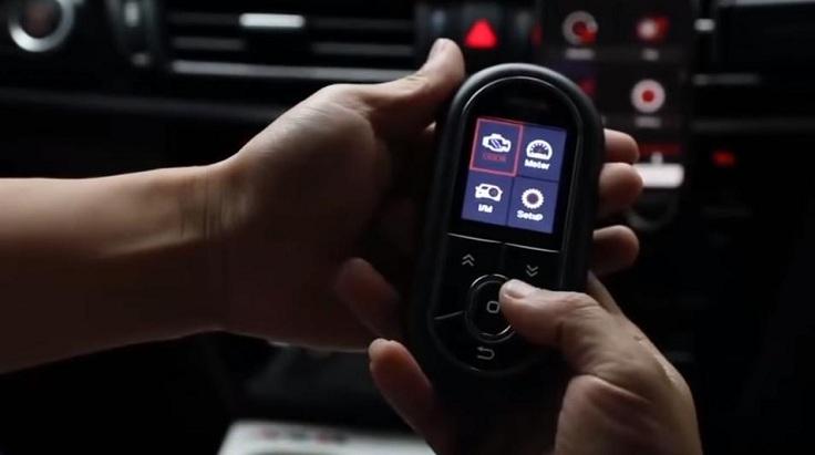 Автомобильный сканер 3-в-1