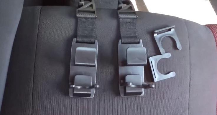 Крюки для пакетов на подголовник