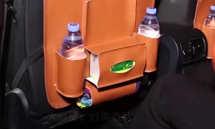 Недорогой органайзер для заднего сиденья