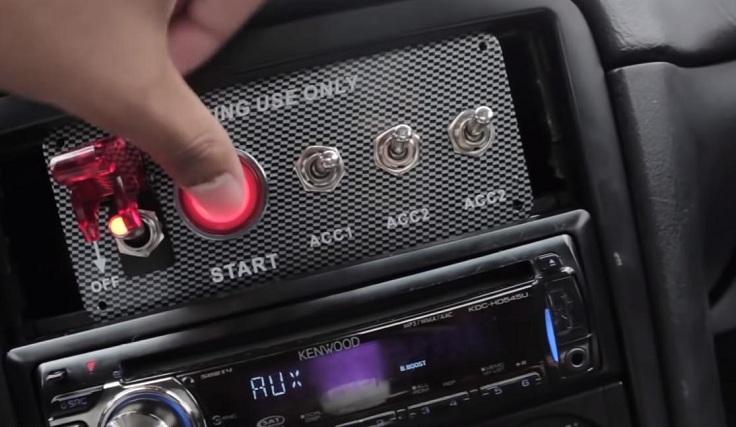 Комплект для зажигания с кнопки