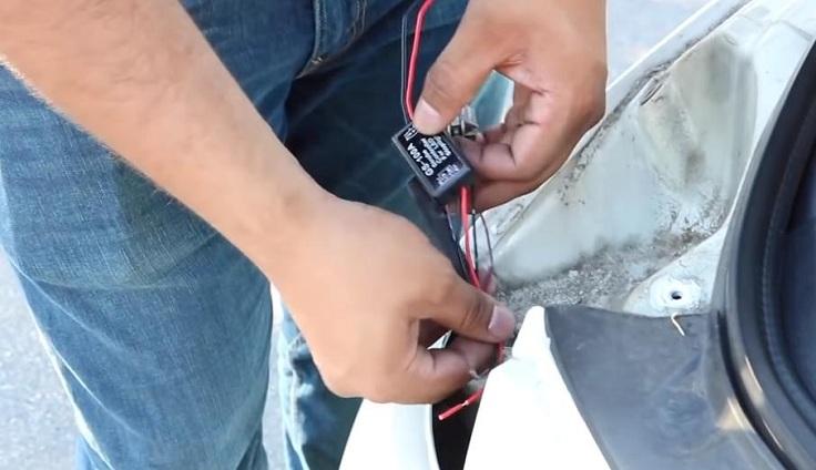 Контроллер стоп сигнала