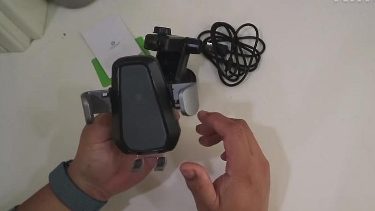 2 в 1 Беспроводное зарядное устройство и держатель