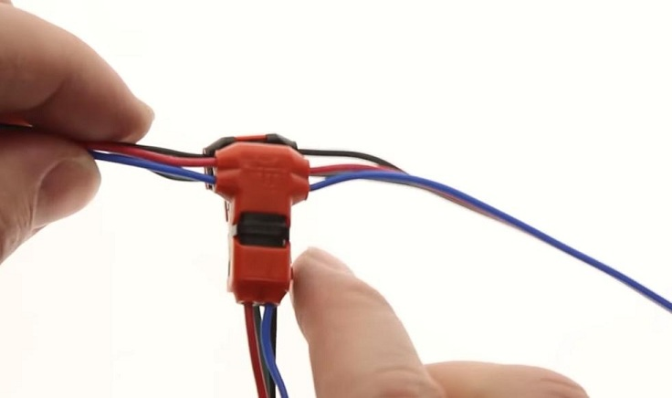 Коннекторы для быстрого сращивания проводов