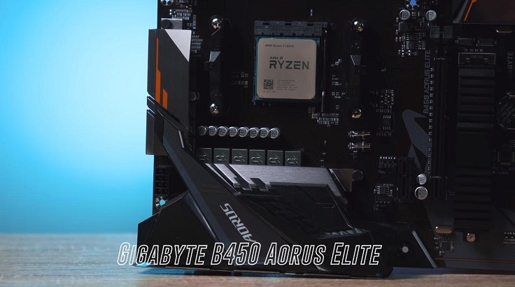 Gigabyte B450 Aorus Elite для Ryzen 5 1600
