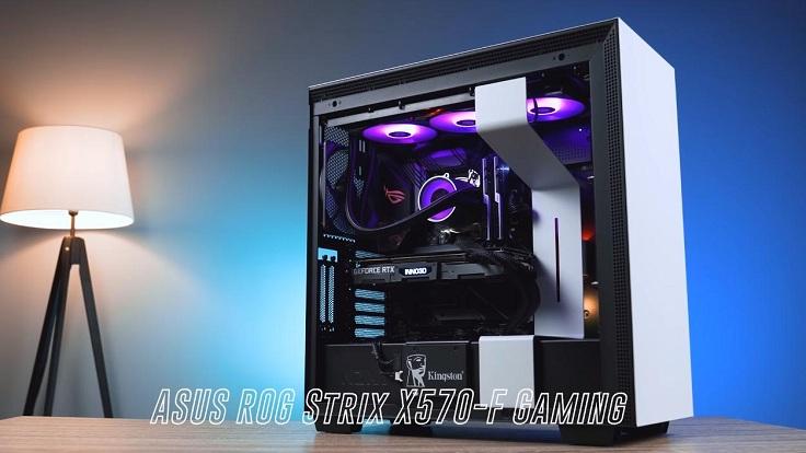 ASUS ROG Strix X570-F Gaming для 2600 и 3600