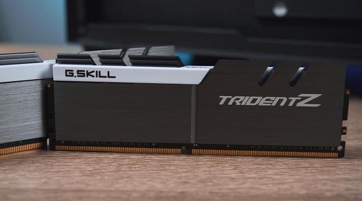 Два двухранговых модуля G.SKILL Trident Z на чипах Samsung B-Die