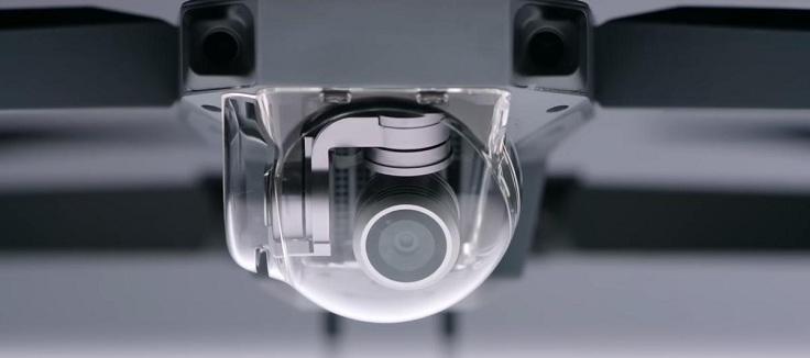 на Mavic Pro есть такие вот «глаза» на передней панели