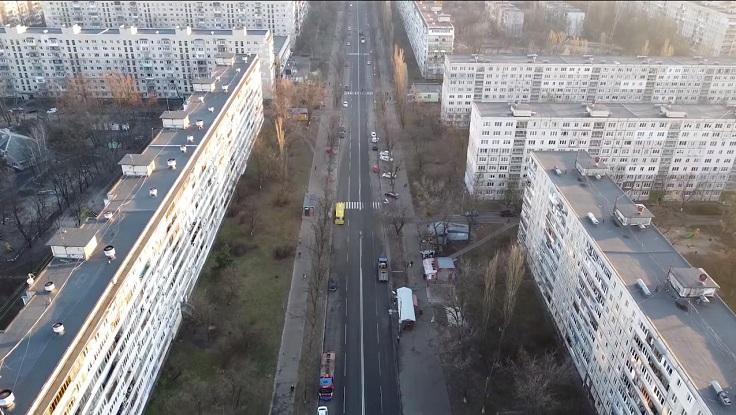 А еще можно делать вот такие вот высотные панорамы города