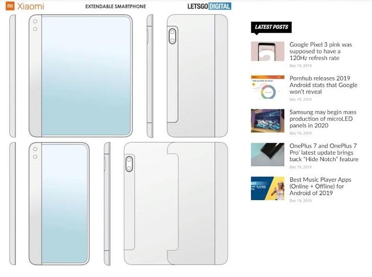 Xiaomi решила ворваться на рынок складных смартфонов
