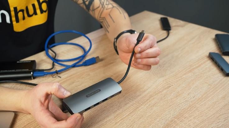 Sitecom USB-C to HDMI Adapter