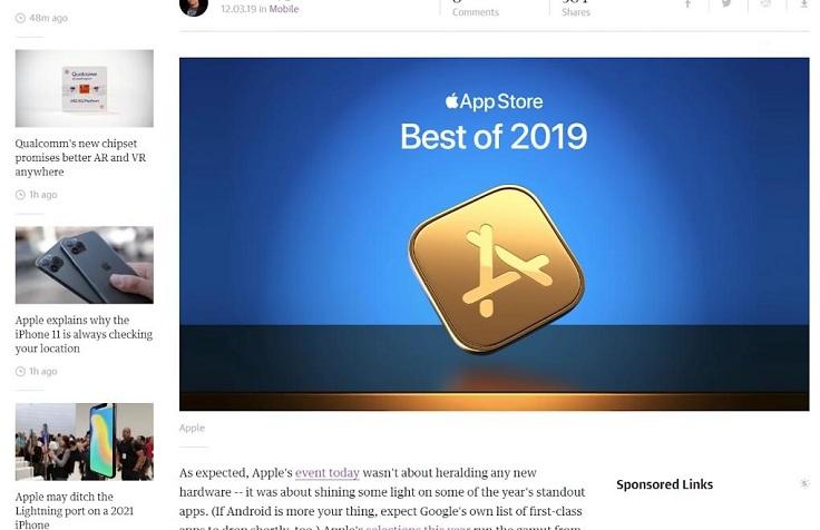 Apple сделала такой же рейтинг своих приложений