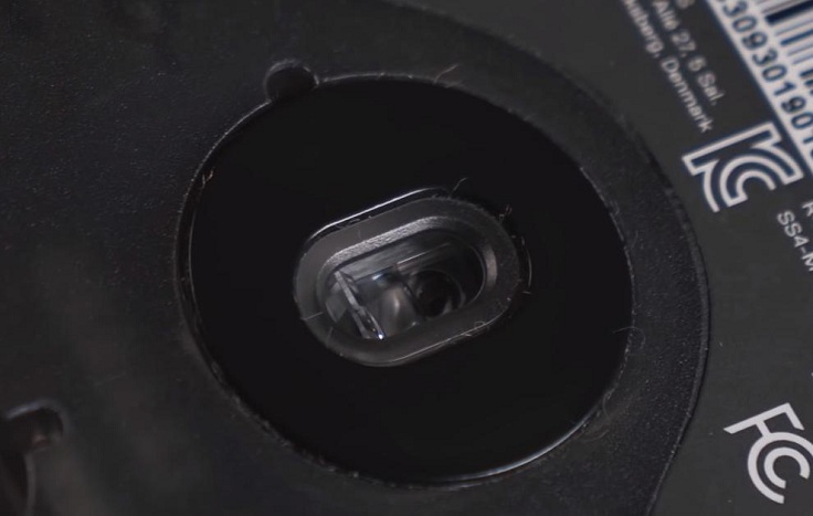 Сюда установили новый оптический датчик