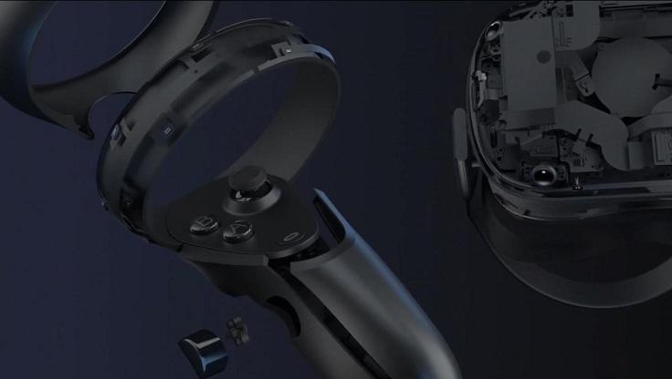 Пара контроллеров выполнена из пластика