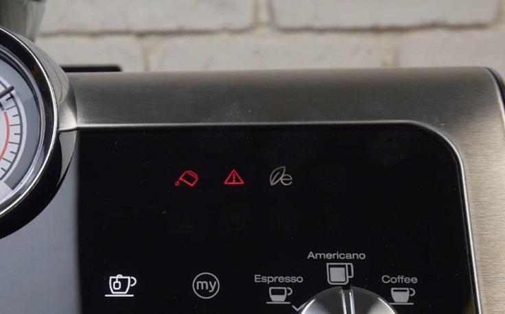 Если вы не так установите резервуар, на экране появится вот такой значок.
