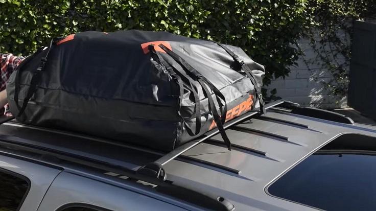 Дорожная сумка на крышу авто