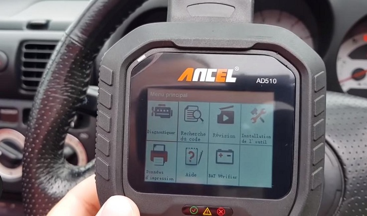 Диагностический сканер ANCEL AD510