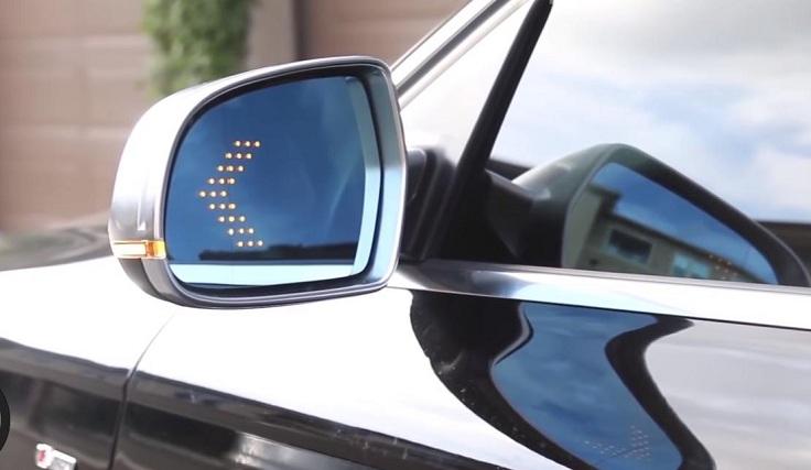 Светодиодные повторители поворотников в зеркала