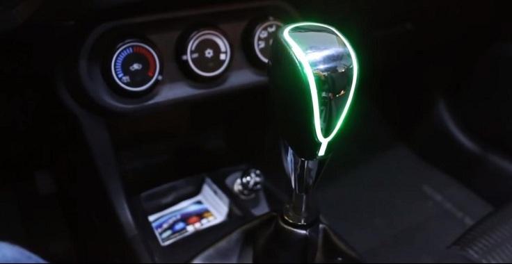 Ручка КПП с подсветкой